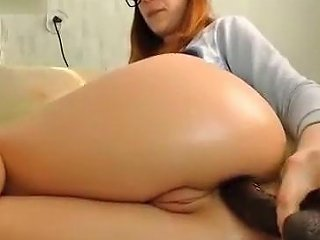 Crazy Homemade Movie With Toys Redhead Scenes